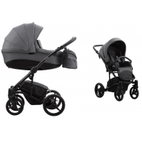 Wózek dziecięcy 2w1 Bebetto Tito + Akcesoria