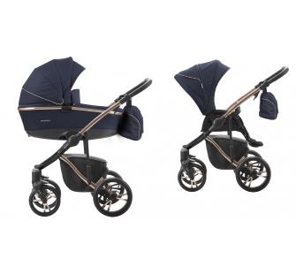 Wózek dziecięcy 2w1 Bebetto Bresso Premium Class + Akcesoria